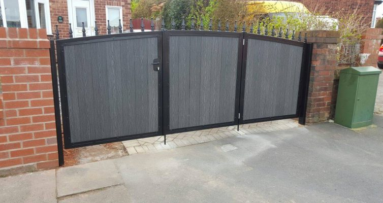 Composite Infill Steel Gates